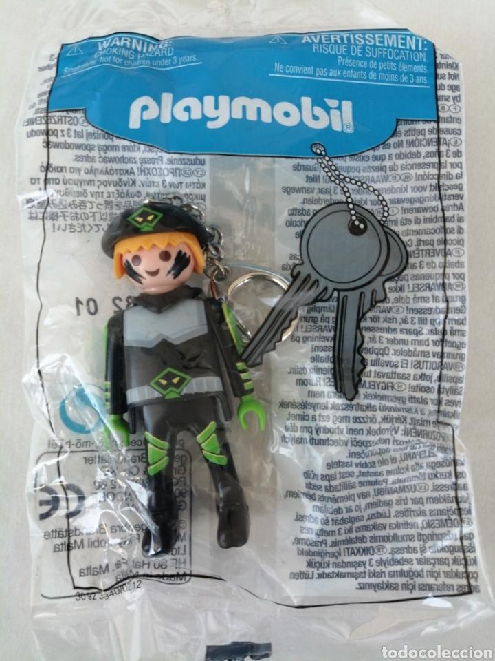 PLAYMOBIL FIGURA LLAVERO AGENTE ESPECIAL (Juguetes - Playmobil)
