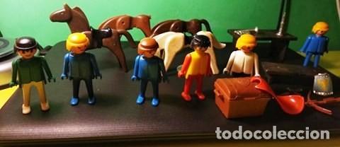 LOTE CLICKS DE FAMOBIL PLAYMOBIL AÑO 1974 (Juguetes - Playmobil)