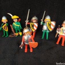 Playmobil: LOTE DE ANTIGUOS SOLDADOS MEDIEVALES PLAYMOBIL.. Lote 231226920