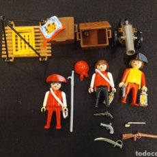 Playmobil: LOTE DE PLAYMOBIL PIRATAS Y COMPLEMENTOS.. Lote 231648740