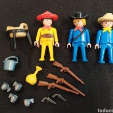 Playmobil: PLAYMOBIL, LOTE DE VAQUEROS.. Lote 231650135