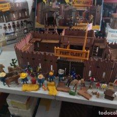 Playmobil: LOTE FUERTE GLORY DE PLAYMOBIL, OESTE, WESTERN. 3806. SE ENCUENTRA EN BUEN ESTADO. VER DESCRIPCIÓN. Lote 231974360
