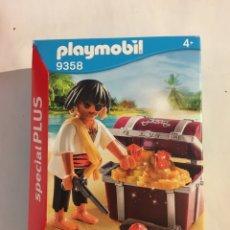 Playmobil: PLAYMOBIL 9358 SPECIAL PLUS PIRATA Y COFRE-NUEVO,PRECINTADO. Lote 232261625
