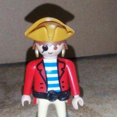 Playmobil: MUÑECO FIGURA PIRATA PLAYMOBIL LOTE 106. Lote 233733510