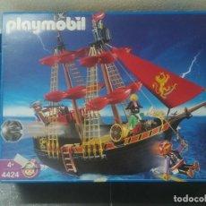 Playmobil: BARCO PIRATA PLAYMOBIL REF 4424 COMPLETO. Lote 234289140