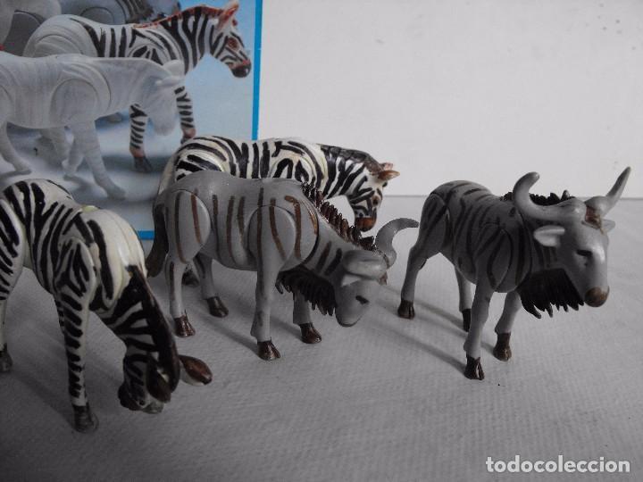 Playmobil: PLAYMOBIL. Color. Safari fotográfico. Con caja. Figuras pintadas a mano. Ref. 3677. - Foto 3 - 234374585