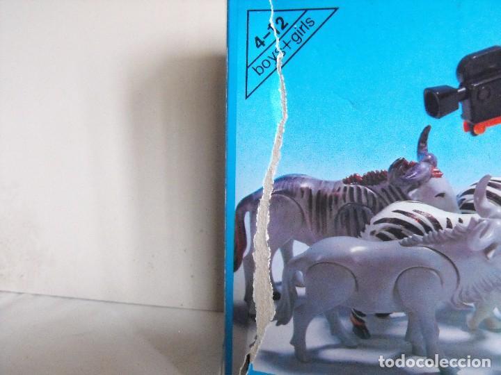 Playmobil: PLAYMOBIL. Color. Safari fotográfico. Con caja. Figuras pintadas a mano. Ref. 3677. - Foto 4 - 234374585