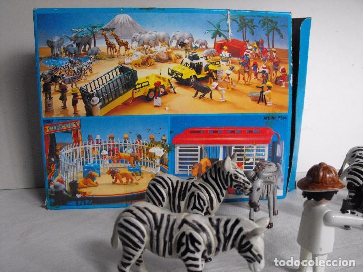 Playmobil: PLAYMOBIL. Color. Safari fotográfico. Con caja. Figuras pintadas a mano. Ref. 3677. - Foto 5 - 234374585