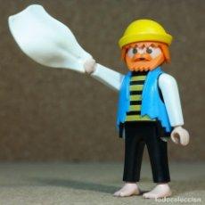 Playmobil: PLAYMOBIL NAUFRAGO, PIRATA BALSA BARCO 3793. Lote 262330710