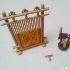 Playmobil: RUECA TELAR MEDIEVAL PLAYMOBIL. Lote 234798185