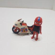 Playmobil: PLAYMOBIL Y MOTO PRIMERA GENERACION. Lote 234911845