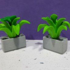 Playmobil: PLAYMOBIL LOTE 2 JARDINERAS TIESTOS CASA VICTORIANA. Lote 235357670