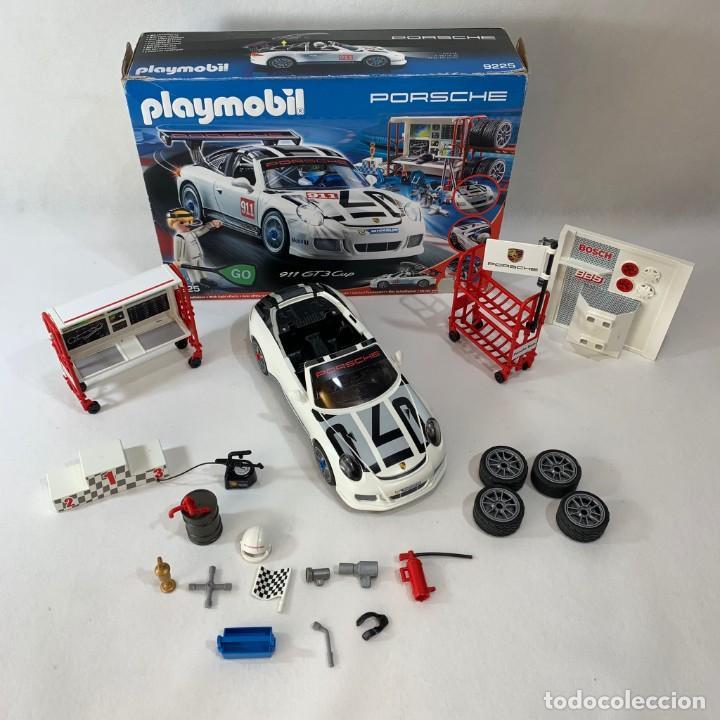 PLAYMOBIL - COCHE PORSCHE 911 GTS CUP SERVICIO TALLER - REF. 9225 (Juguetes - Playmobil)