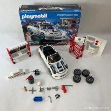 Playmobil: PLAYMOBIL - COCHE PORSCHE 911 GTS CUP SERVICIO TALLER - REF. 9225. Lote 235799855