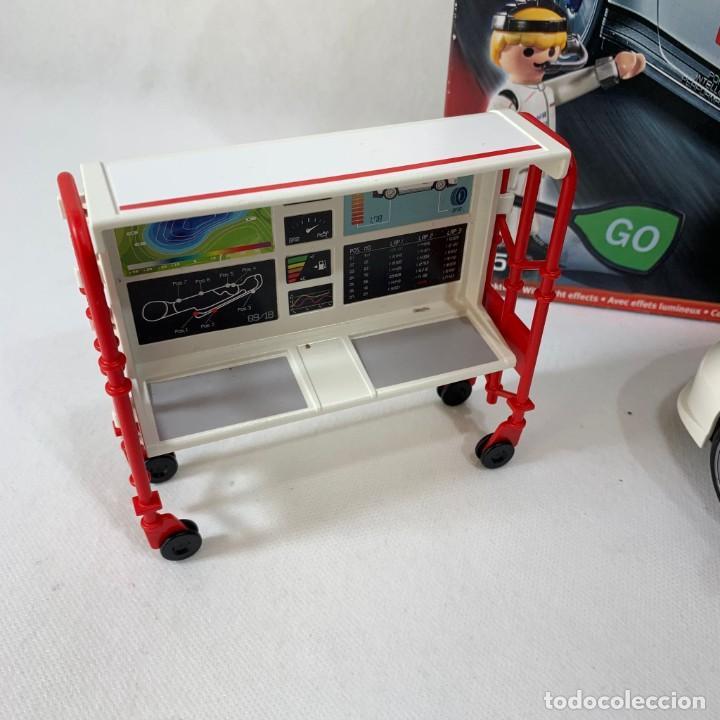 Playmobil: PLAYMOBIL - COCHE PORSCHE 911 GTS CUP SERVICIO TALLER - REF. 9225 - Foto 7 - 235799855