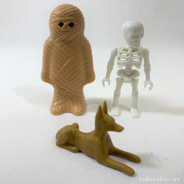 PLAYMOBIL - MOMIA + ESQUELETO Y ANIMAL - EGIPTO - EGIPCIOS REF. 9542 (Juguetes - Playmobil)