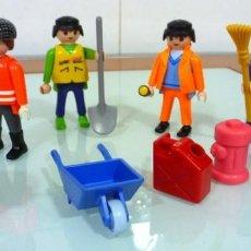 Playmobil: 4 PLAY MOBIL - FOTO 764- CON ACCESORIOS - MUY NUEVOS. Lote 236186780