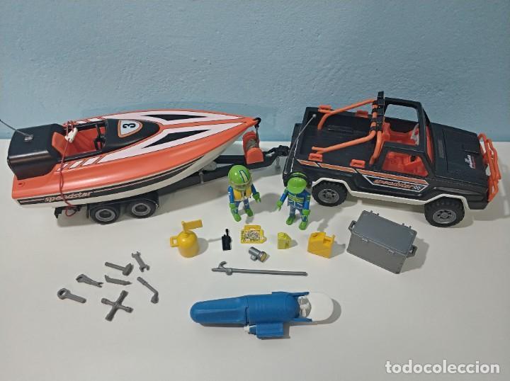 Playmobil: playmobil jeep-todoterreno con lancha 3399 city... - Foto 2 - 236299660