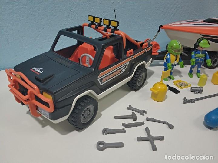 Playmobil: playmobil jeep-todoterreno con lancha 3399 city... - Foto 3 - 236299660