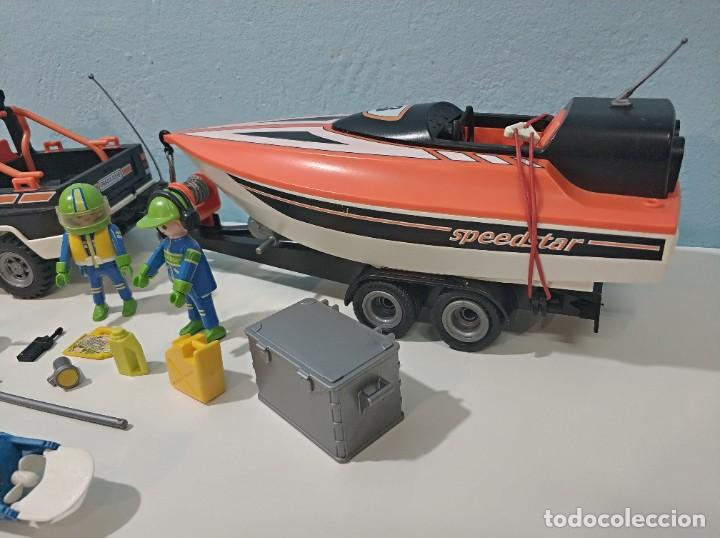 Playmobil: playmobil jeep-todoterreno con lancha 3399 city... - Foto 4 - 236299660