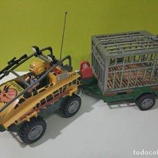 Playmobil: PLAYMOBIL JEEP-TODOTERRENO CON JAULA SAURUS 4175, DINOSAURIOS, SAFARY, CITY.... Lote 236299780