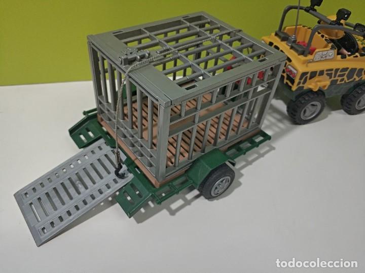 Playmobil: playmobil jeep-todoterreno con jaula saurus 4175, dinosaurios, safary, city... - Foto 3 - 236299780