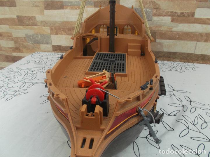Playmobil: BARCO PIRATA PLAYMOBIL, ES UN BARCO GIGANTE, 55 CNT DE LARGO, EXCELENTE ESTADO - Foto 2 - 237476040