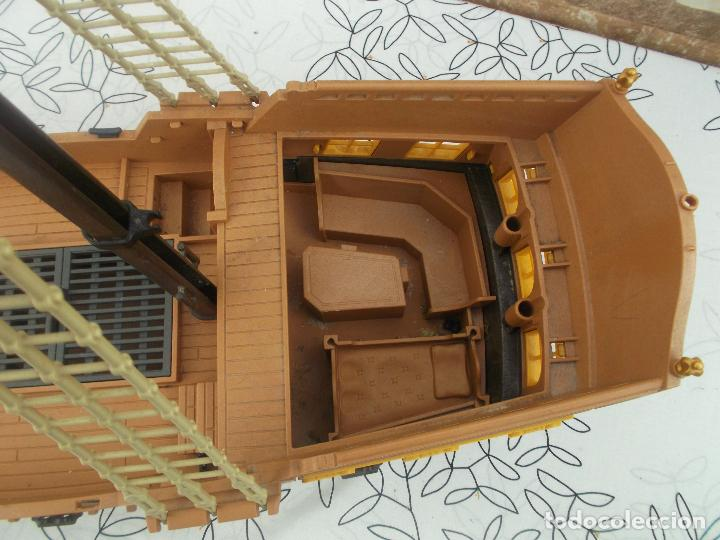 Playmobil: BARCO PIRATA PLAYMOBIL, ES UN BARCO GIGANTE, 55 CNT DE LARGO, EXCELENTE ESTADO - Foto 8 - 237476040