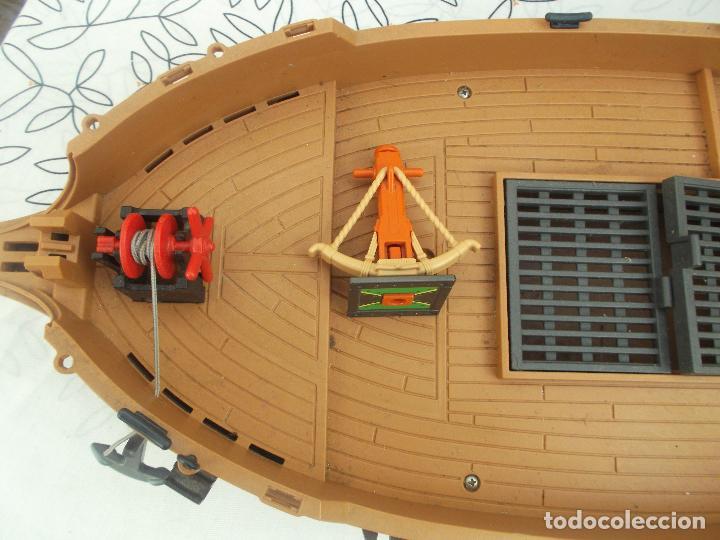 Playmobil: BARCO PIRATA PLAYMOBIL, ES UN BARCO GIGANTE, 55 CNT DE LARGO, EXCELENTE ESTADO - Foto 9 - 237476040