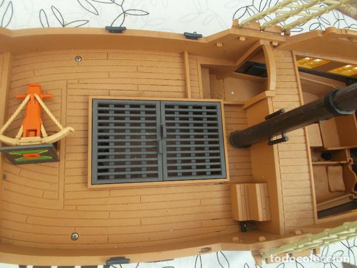 Playmobil: BARCO PIRATA PLAYMOBIL, ES UN BARCO GIGANTE, 55 CNT DE LARGO, EXCELENTE ESTADO - Foto 10 - 237476040