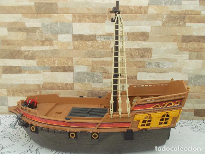 Playmobil: BARCO PIRATA PLAYMOBIL, ES UN BARCO GIGANTE, 55 CNT DE LARGO, EXCELENTE ESTADO - Foto 13 - 237476040