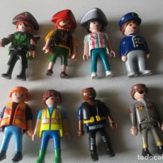 Playmobil: LOTEPLAY MOBIL, 8 MUÑECOS. Lote 237477490