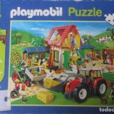 Playmobil: PUZZLE DE PLAYMOVIL DE 60 PIEZAS USADO PERO ENTERO. Lote 237808920