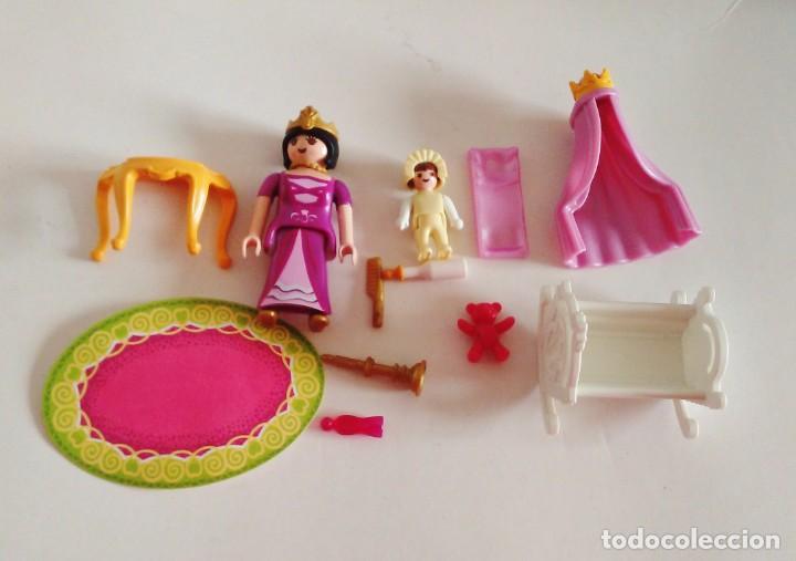 Playmobil: CUNA BEBE REINA HABITACIÓN DORMITORIO REAL DE LA REF 5146 PLAYMOBIL - Foto 2 - 237894735