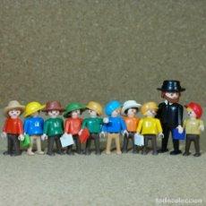 Playmobil: PLAYMOBIL ESCUELA DEL OESTE, NIÑOS PROFESOR WESTERN FIGURAS. Lote 238538725