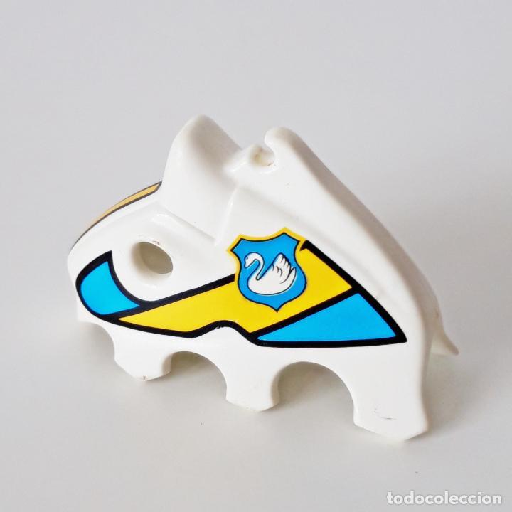 Playmobil: PLAYMOBIL MÁSCARA O CAPUCHA BLANCA CABALLO 3024 3372 3654 CABALLERO MEDIEVAL CISNE TORNEO - Foto 2 - 265175879