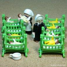 Playmobil: PLAYMOBIL CASA CUNA, NIÑERAS MONJAS BEBES NIÑAS VICTORIANO. Lote 240378150