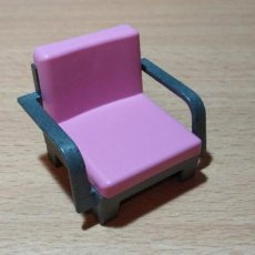 Playmobil: PLAYMOBIL SILLON ROSA LUJO CASA VICTORIANA. Lote 240671835