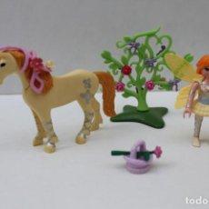 Playmobil: PLAYMOBIL HADAS - FLOR CON UNICORNIO - REF. 5442. Lote 240702950