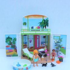 Playmobil: PLAYMOBIL - SUMMER FUN -COFRE BUNGALOW PLAYA REF. 6159. Lote 241105405