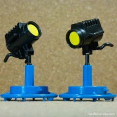Playmobil: PLAYMOBIL 2 FOCOS DE LUZ, DIRECTOR TV TELEVISIÓN CINE ILUMINACIÓN 3468 3531. Lote 241141695