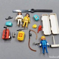 Playmobil: RESTOS FAMOBIL DE LA REFERENCIA 3247 - HELICÓPTERO - PLAYMOBIL. Lote 241294565