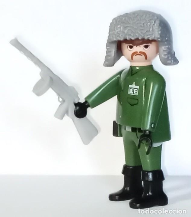 Playmobil: LOTE FIGURA NUEVA PLAYMOBIL - SOLDADO RUSO WWII CON SUBFUSIL EXCLUSIVO -AHORRA EN PORTES, COMPRA MAS - Foto 2 - 241454365