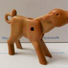 Playmobil: PLAYMOBIL C106* ANIMALES GRANJA, TERNERO 1ª EPOCA, RANCHO OESTE MONTAÑA. Lote 241866375