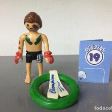 Playmobil: PLAYMOBIL SERIE 19 AZUL SOBRE SORPRESA LUCHADOR UFC. Lote 242205165