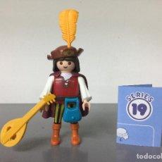 Playmobil: PLAYMOBIL SERIE 19 AZUL SOBRE SORPRESA TROVADOR. Lote 242205635