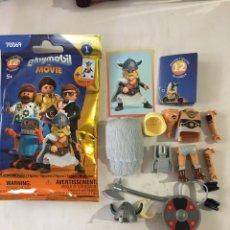 Playmobil: PLAYMOBIL MOVIES SERIES 1 COMPLETO Y NUEVO. Lote 242275715