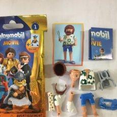 Playmobil: PLAYMOBIL MOVIES SERIES 1 COMPLETO Y NUEVO. Lote 242276390