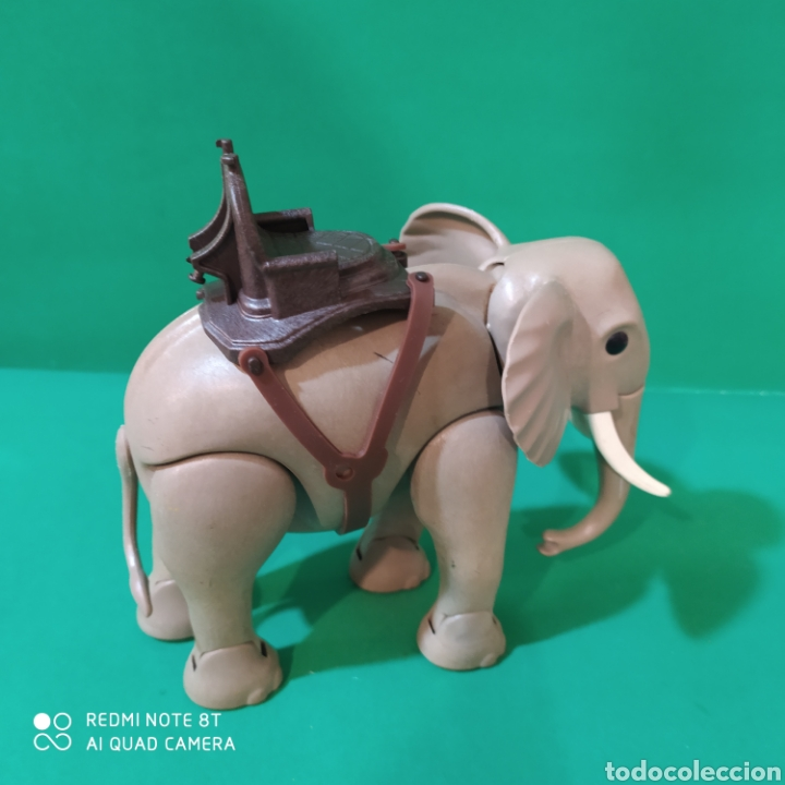 PLAYMOBIL ELEFANTE CON SILLA (Juguetes - Playmobil)
