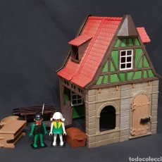 Playmobil: SASTRERÍA MEDIEVAL VINTAGE DE PLAYMOBIL, REF 6463. Lote 242493015
